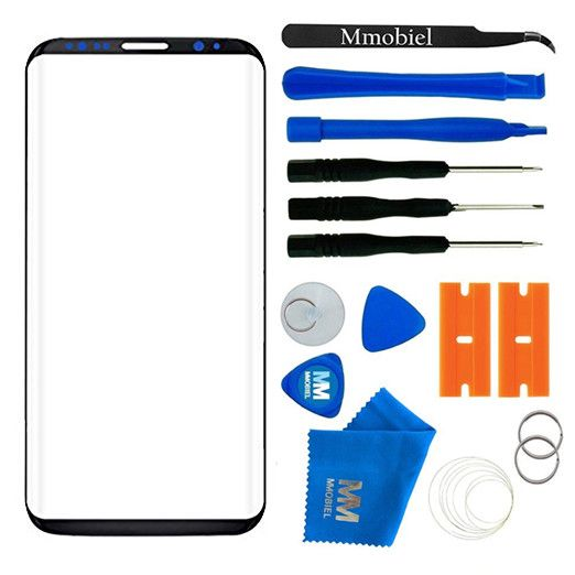 MMOBIEL For Samsung Galaxy S8 Plus (6.2 Inch) G955 Front Glass Touch Panel Screen Digitizer Display Repair Tools 12Pieces