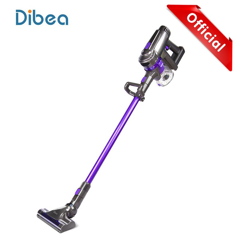 Dibea F6 2-in-1 Wireless Vacuum Cleaner Handheld Upright Stick Machine with Mop for Carpet Hardwood Floor Cyclonic Filtration