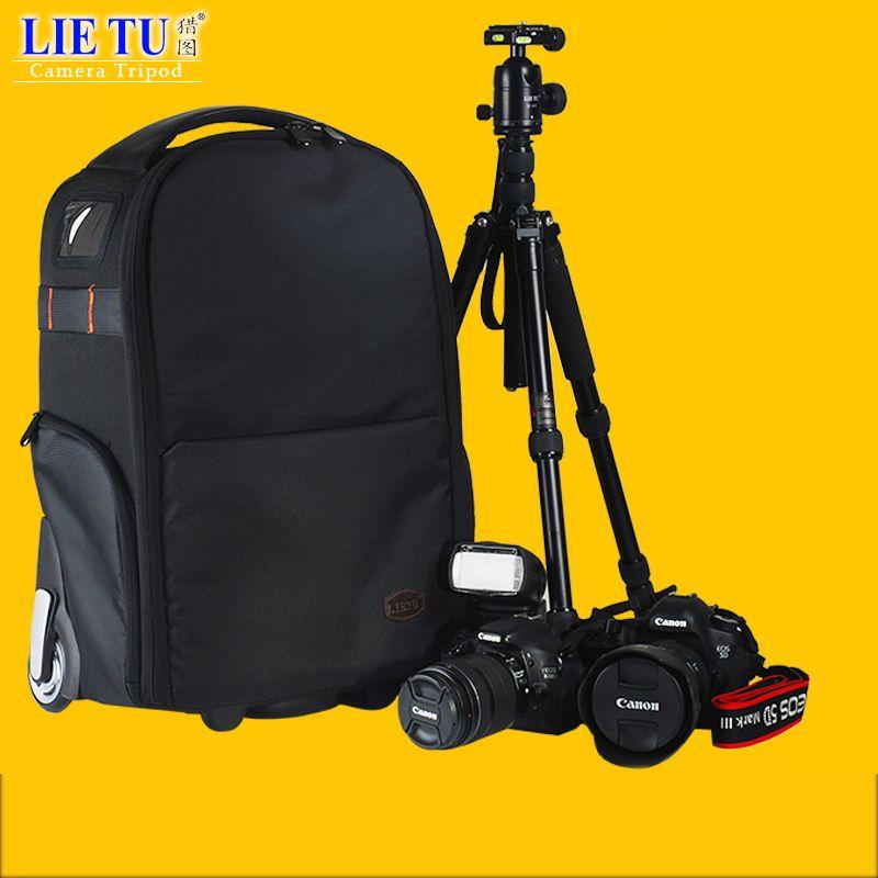 Lietu Kamera Tasche Trolley Kamera Rucksack Kamera Tasche Freizeit Rucksack Kamera Digital SLR T-80