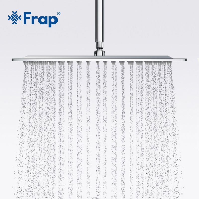 Frap New Arrival 300*300mm Square 304 Stainless Steel Shower head Rainfall Shower Faucet Overhead F28-3