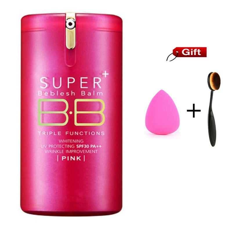 Chaud or rose barils Super + Beblesh baume BB crème coréen les pores professionnel apprêt correcteur fond de teint crème solaire SPF30 PA + +