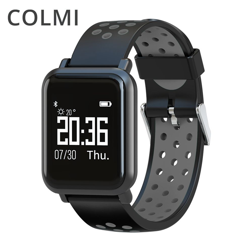 COLMI Smart Watch 2.5D OLED Screen Gorilla Glass Fitness Clock <font><b>Blood</b></font> pressure IP68 Waterproof Activity Tracker Smartwatch