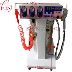 1 PC LM-806 Cerdas Tekanan Tinggi Elektrostatik Penyemprotan Bubuk/Penyemprotan Mesin/Mesin Semprot Coating Mesin Gun Cat
