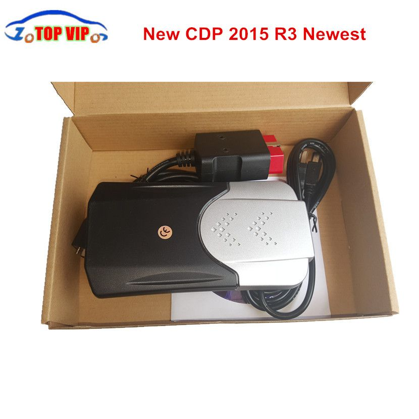 New arrival CDP PRO 2018 Newest 2015.R3 Keygen New TCS CDP New VCI Auto Diagnostic Tool Car Scanner TCS CDP PRO For Cars/Trucks