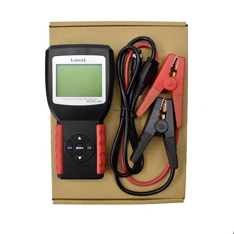 MICRO-468 Automobil Batterie Analyzer Leitwert Tester Tragbare 12 V Auto Digitale CCA Batterie Messung Instrument Werkzeug