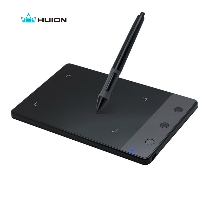 Ship from RU New HUION H420 4 x 2.23 Professional Signature Graphics Tablets Digital Pen Tablets USB Art <font><b>Drawing</b></font> Tablets Black