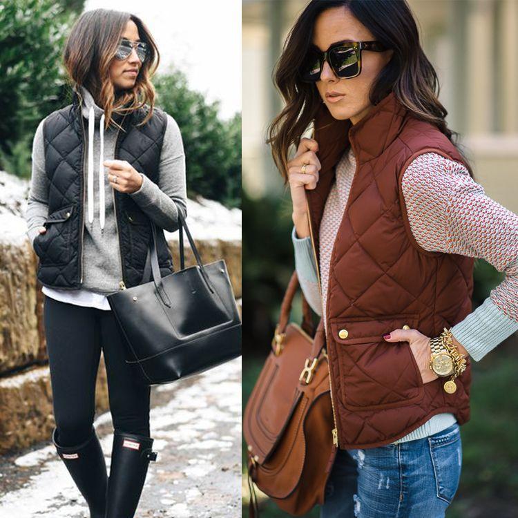 Femmes arrivée Slim manteaux nouvelle marque femmes sans manches veste hiver gilet femme Slim gilet femmes coupe-vent chaud gilet