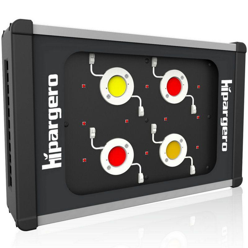 HIPARGERO 450W COB LED Wachsen Licht Gesamte Spektrum mit 5W CREE LEDs und 100W Epileds Kolben für innen pflanzen