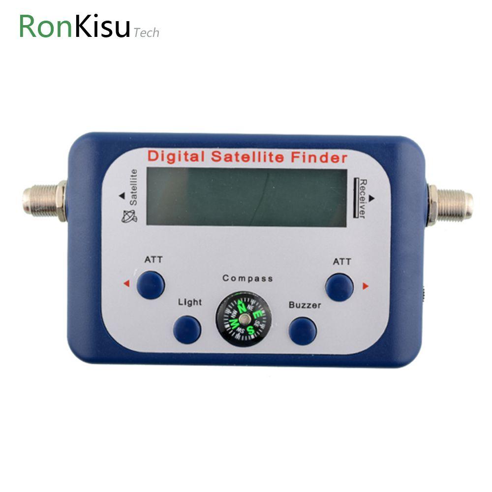 Digital Display Satellite Finder Satellite Signal Meter <font><b>Compass</b></font> TV Dish FTA LNB Satellite finder localizador for receiver