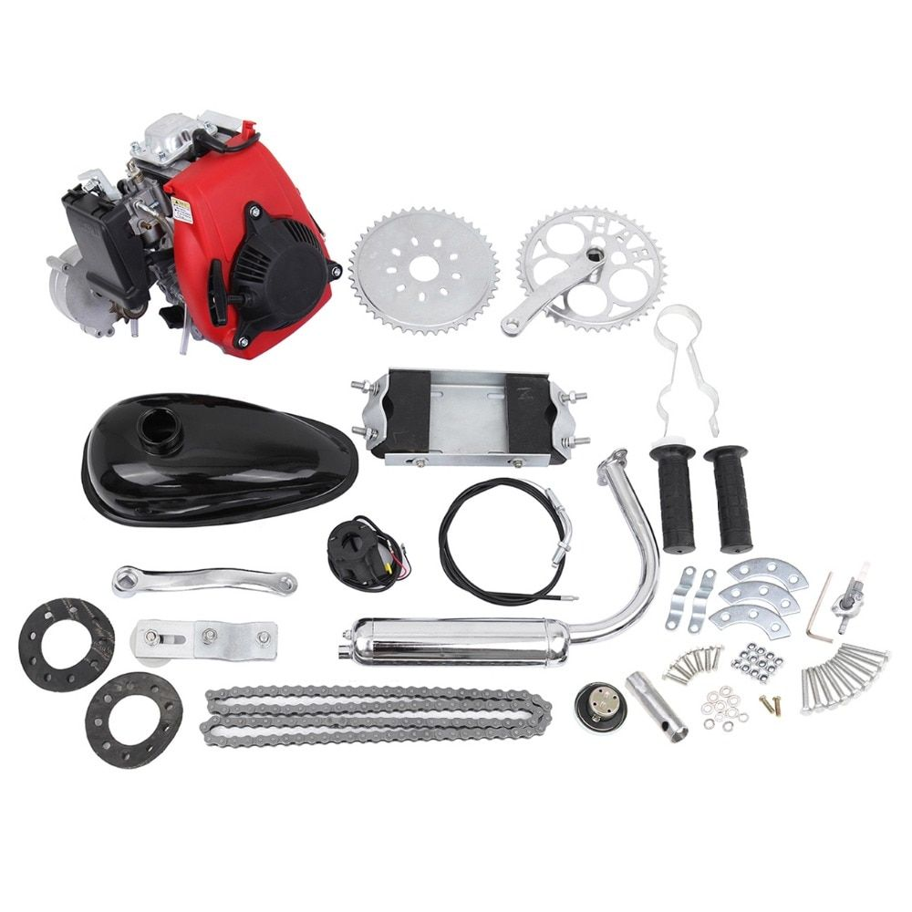 (Shipping From EU) 49cc 4 Stroke Bicycle Engine Cycle Motor Kit Motorized Bike Petrol Gas Scooter Engine kit