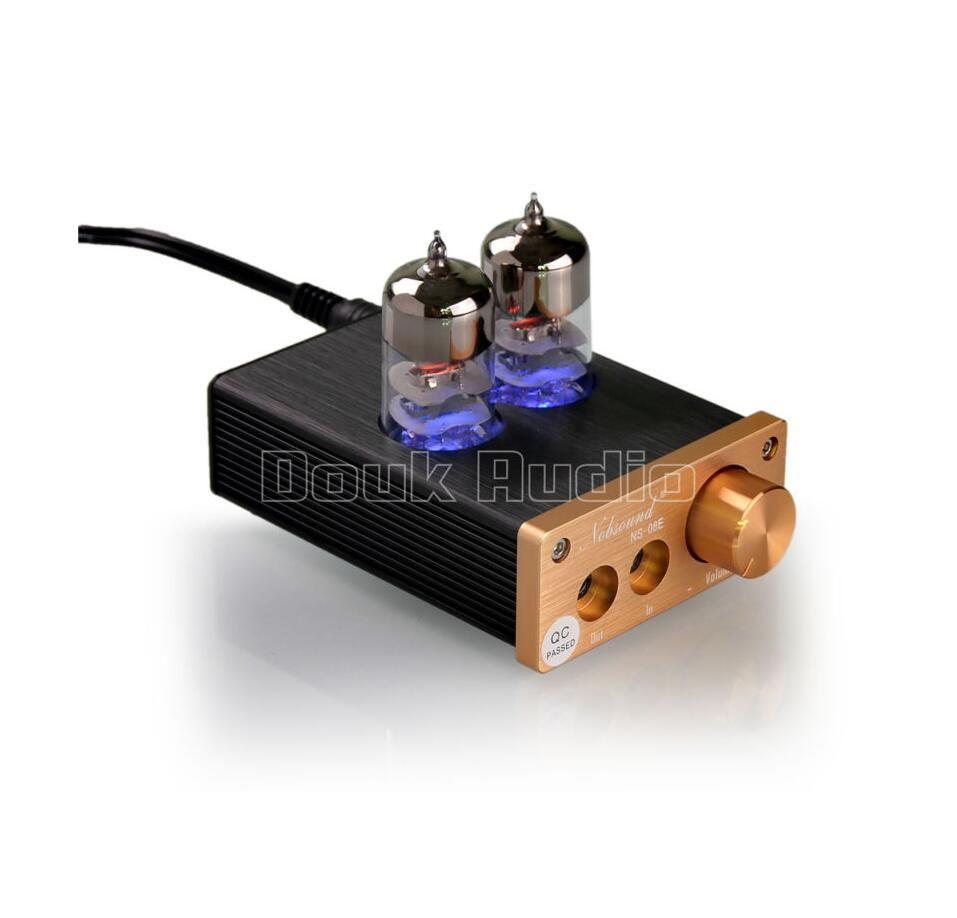 2017 douk аудио последнее 6j9 ламповый интегральный Усилители домашние мини аудио hi-fi стерео наушники earset AMP Бесплатная доставка