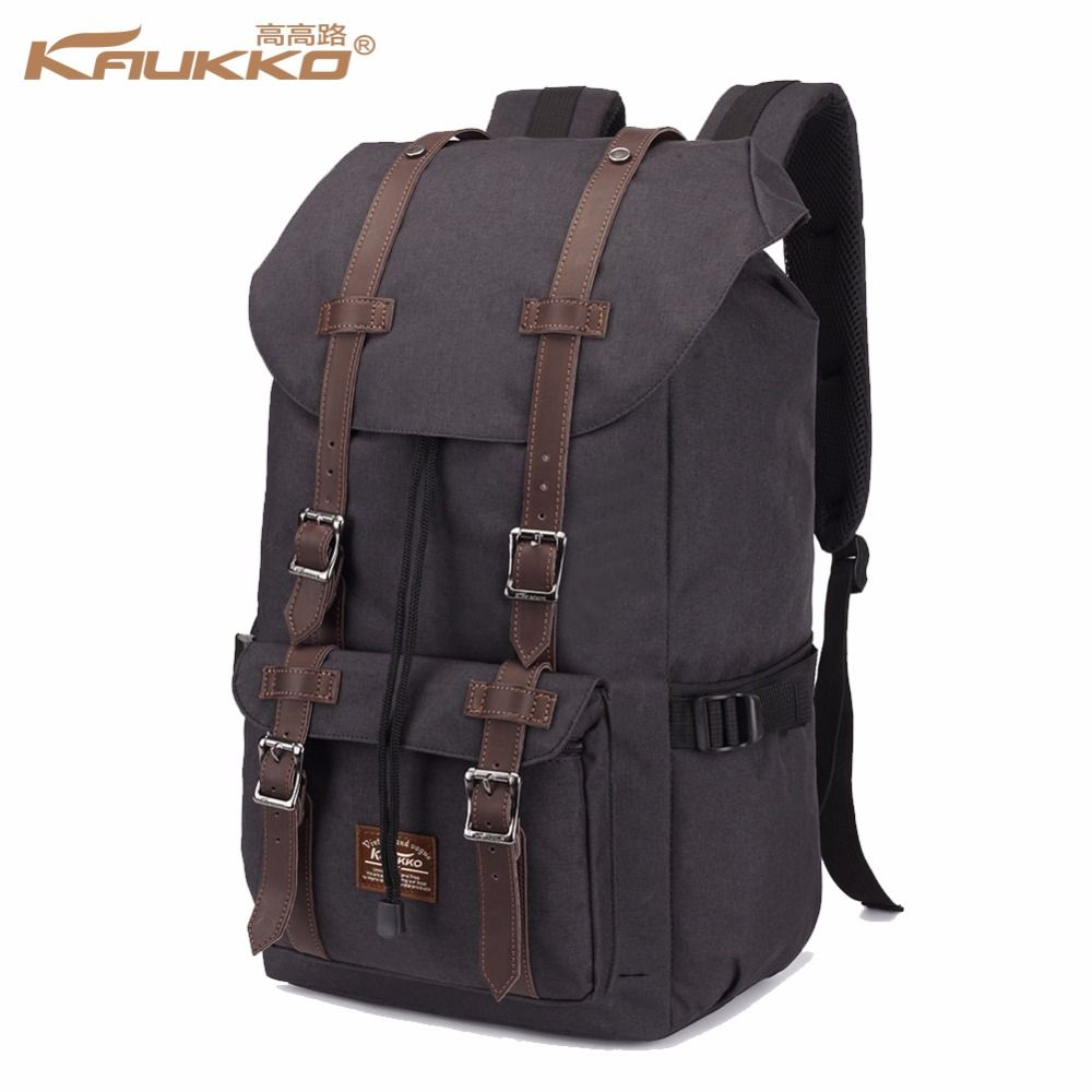 Backpack Women's Daypack Men's Schoolbag Schulrucksack KAUKKO 17 inch Laptop Backpack for 15