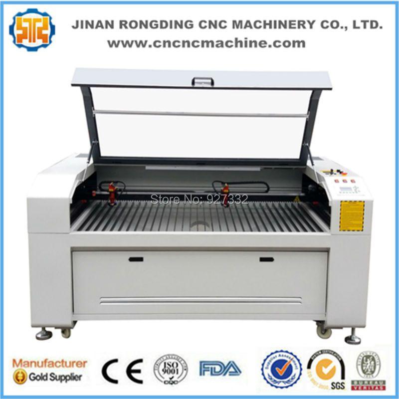 Fast speed cnc laser cutter, laser cutter engraver, co2 laser cutting machine for mdf wood 1390