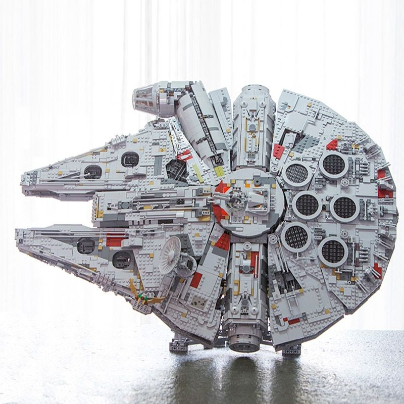 LEPIN 05132 New Millennium Falcon 8445pcs Compatible with 75192 Star Plan Series Ultimate Collector's Model Building Bricks