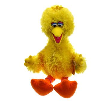 Sesame Street Big Bird Stuffed Animal 36cm Plush Toys
