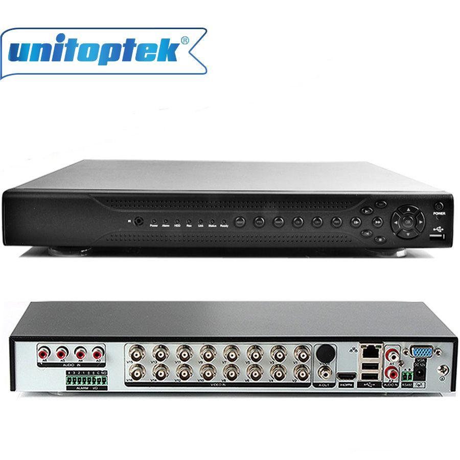 5 IN 1 Hybrid 16 Channel 1080P AHD CCTV DVR Recorder CVI TVI DVR 16Ch AHD DVR 1080P/1080N For 2MP/1MP AHD/CVI/TVI Camera,CVBS