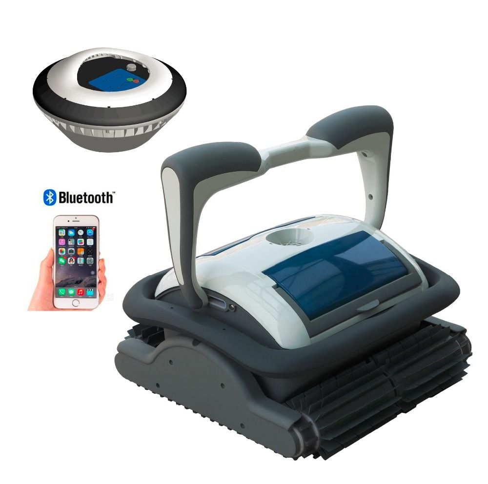 Bluetooth Control Via Smart Phone, Self-diagonstic,Cordless Cleaner Drvien By Floating Battery Swimming Pool Cleaner 3110