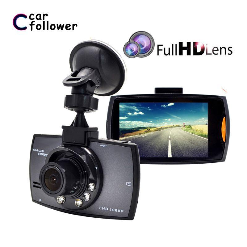 Full HD 1080 P voiture DVR 2.7 pouces IPS écran voiture caméra double lentille Dash Cam enregistreur vidéo Vision nocturne g-sensor registrateur