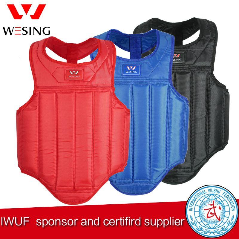 Wesingg MMA artes marciales wushu sanda protector de pecho pecho guardia de Guardia En El Pecho