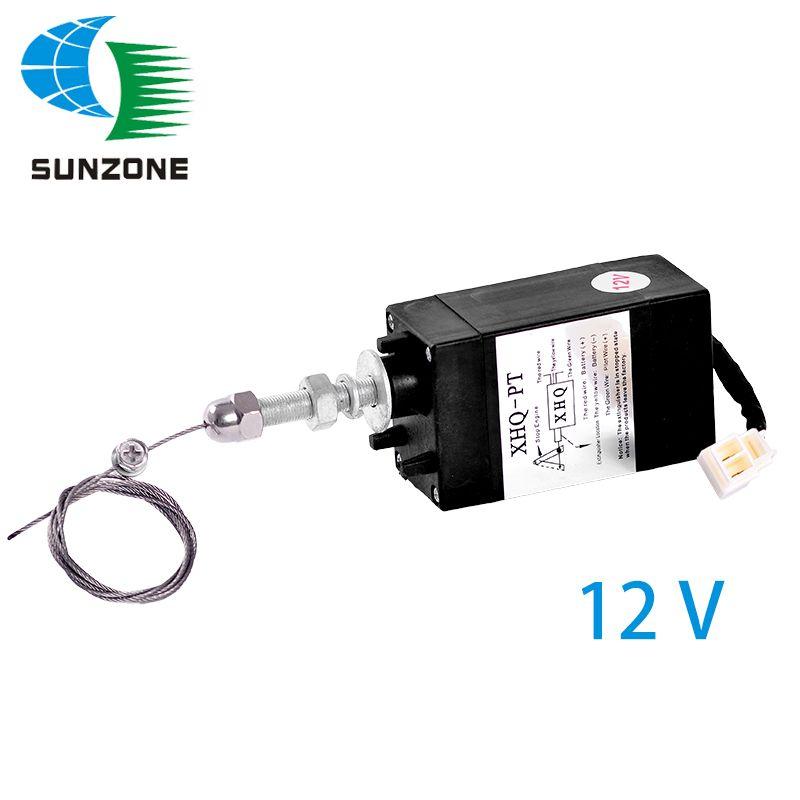 XHQ-PT 12 v Pull Typ Magnet Diesel Motor Teile Stoppen Magnet Für Generator Aggregat