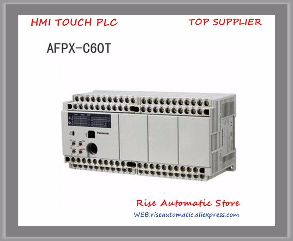 Neue Original AFPX-C60T AFPX-C60TD AFPX-C60P AFPX-C60R PLC AC100-240V 32 DC eingang punkte 28 Relais ausgang punkte FP-X Control Unit
