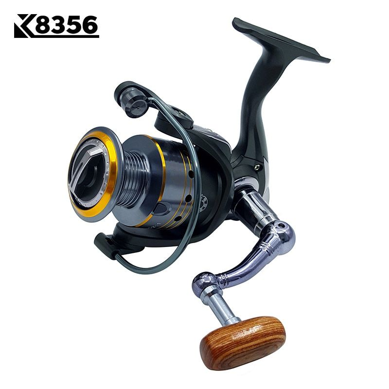 K8356 Fishing Spinning Reel PK1000~PK6000 11BB 5.2:1 Carp Fishing Reel  Metal Line Cup Left/Right Handle Saltwater Fishing Reel