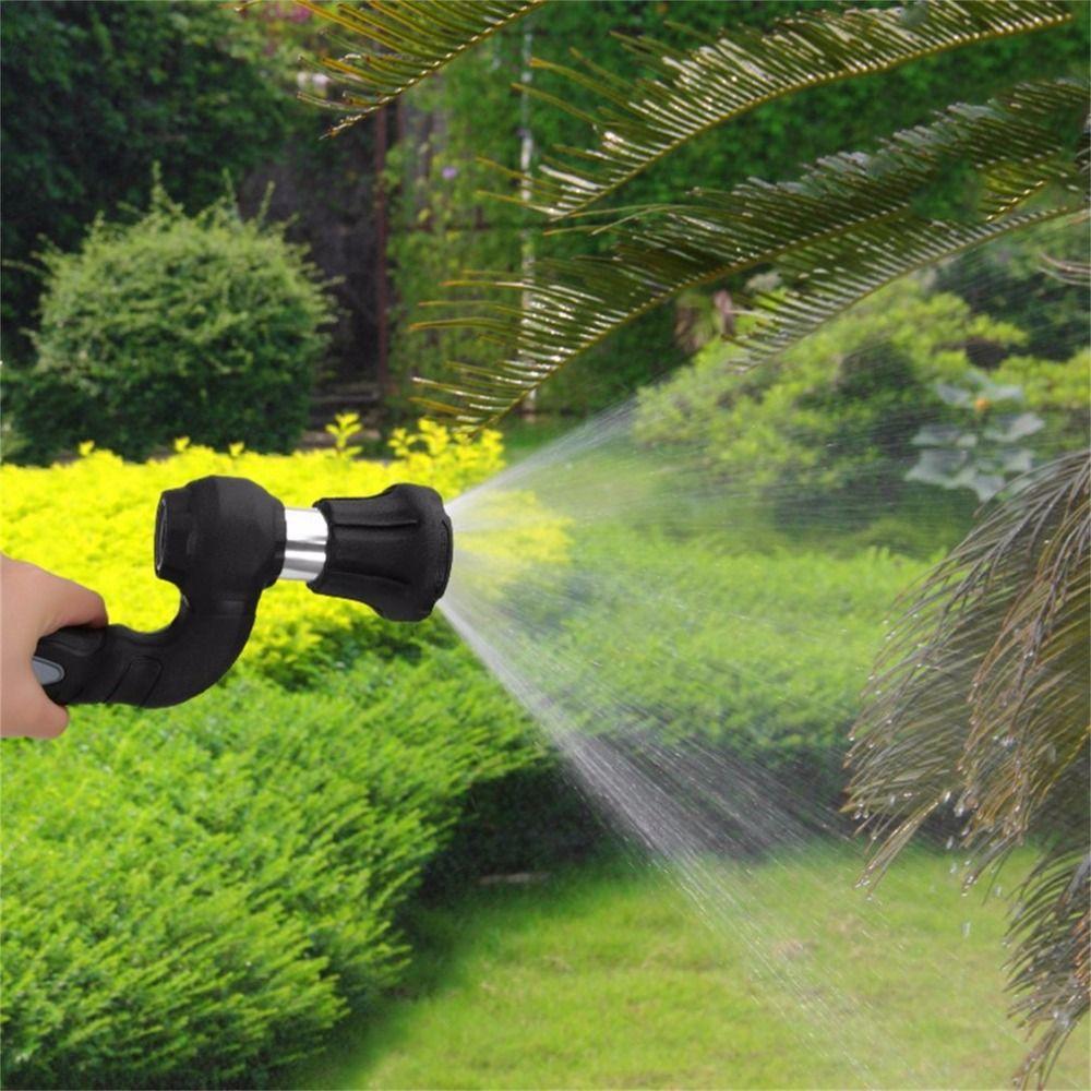 Multi-fonctionnelle De Poche Jardin Pistolet À Eau Puissant Blaster Arrosage De Pulvérisation De Jardin Haute Pression De Lavage De Voiture Tête de L'eau Nouvelle Arrivée