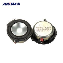 AIYIMA 2pcs Full Range Audio Speaker For HARMAN 1 inch 4 ohm 4 W Woofer Loudspeaker Speaker