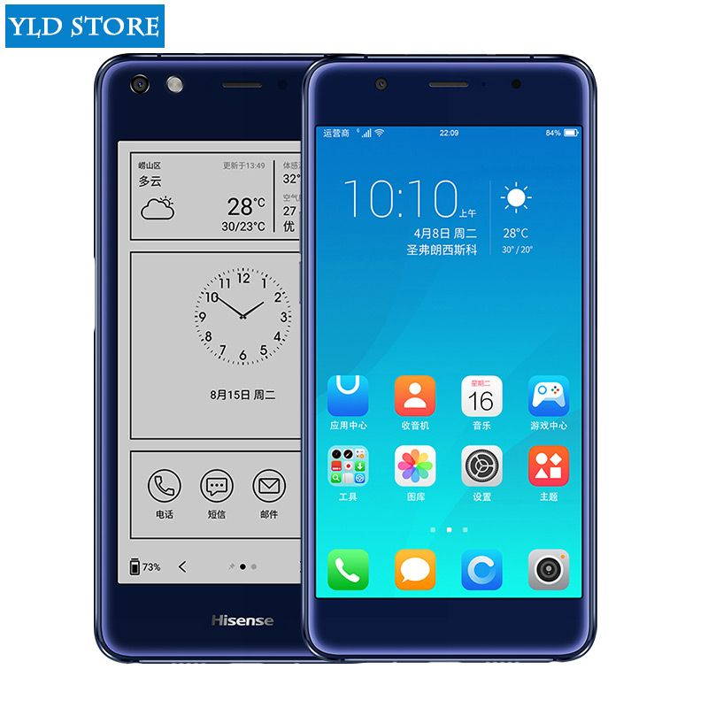 Hisense A2 Pro double screen mobile Smartphone 4G LTE FDD 5.5
