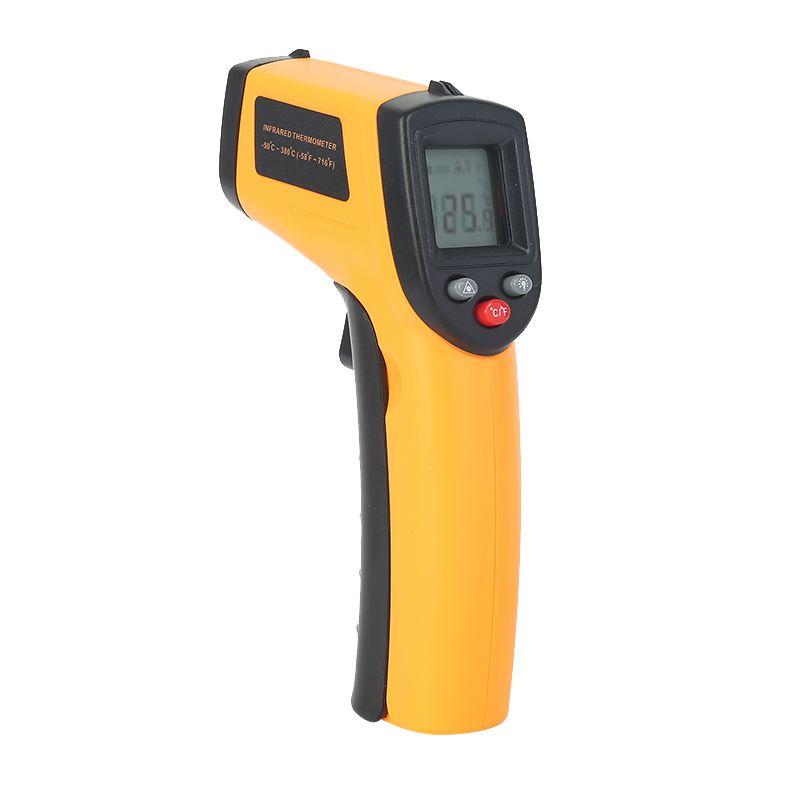 2017 GM320 Sans Contact Laser Écran lcd IR Infrarouge Numérique C/F Sélection Surface Température Thermomètre Pour L'industrie Usage domestique
