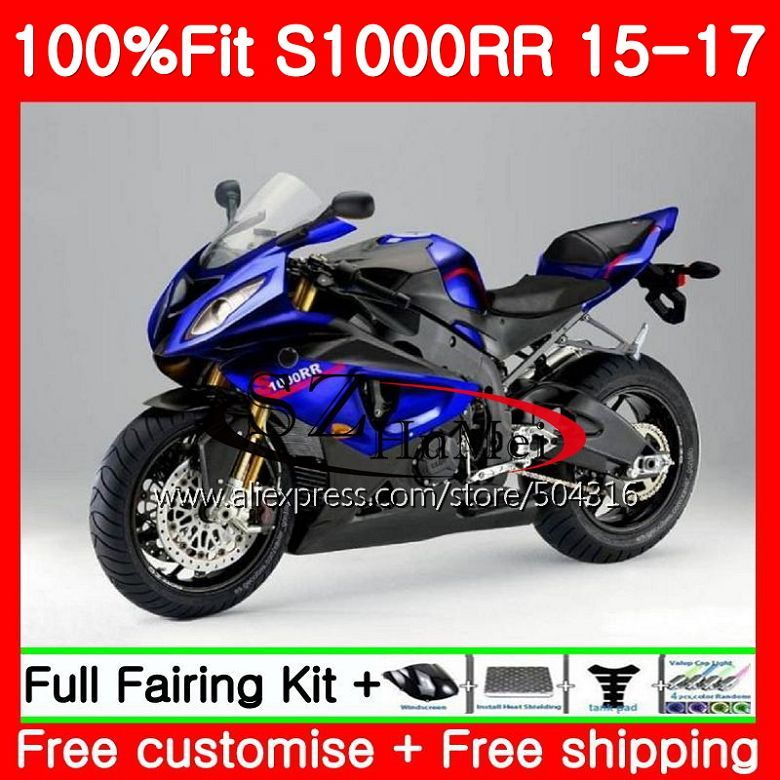 Injection Body For BMW S1000R S 1000RR S1000 R S 1000 RR TOP blue black 91SH5 S1000RR 15 16 17 S1000 RR 2015 2016 2017 Fairings