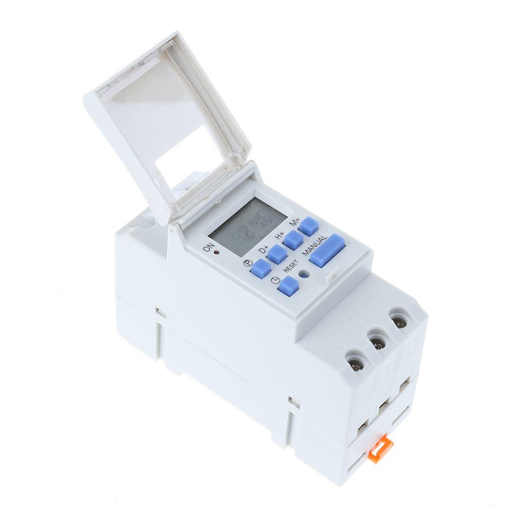 12 V 220 V THC15A Digitale ZEITSCHALTUHR Elektronische Wöchentlicher Programmierbarer Timer Schalter Relais Timer Controller