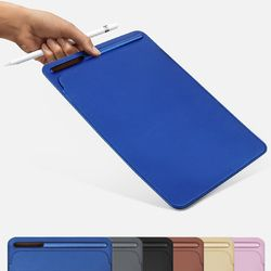 Premium PU pocket sleeves case with pencil slot design for iPad Pro 9.7 10.5
