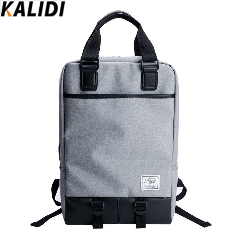 KALIDI 15.6 pouce Sac D'ordinateur Portable pour Hommes Femmes Mode Casual Sac À Dos 17.3 pouce Sac pour Mackbook HP Dell 15.6-17.3 pouce Sac D'école