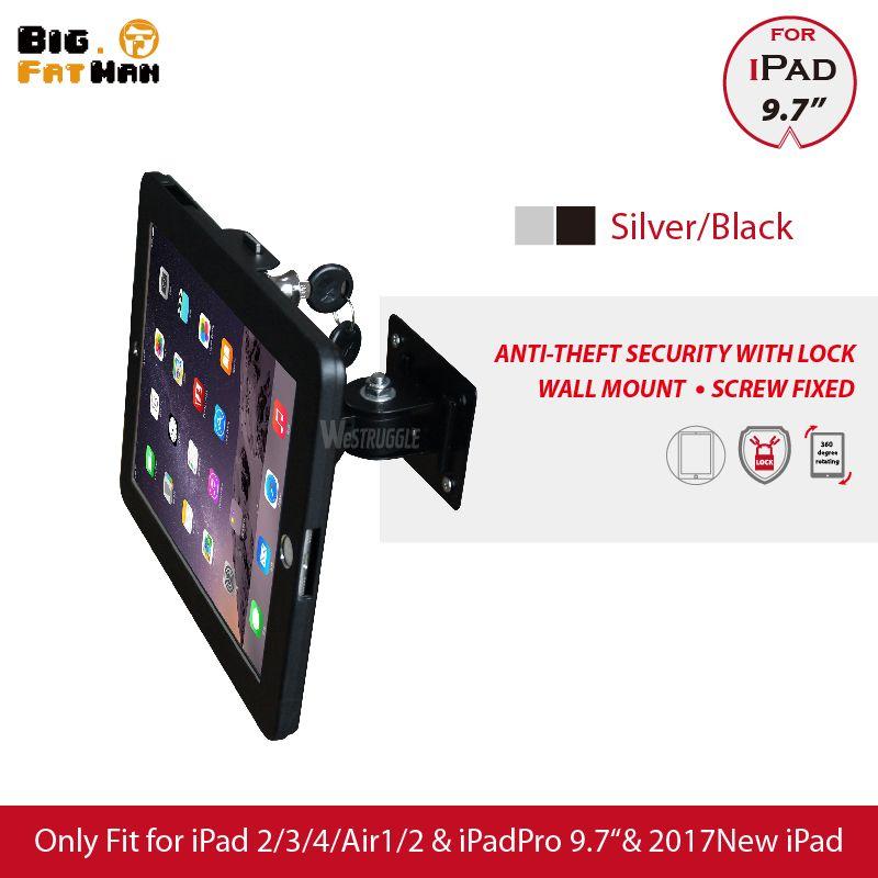 Fit für iPad 2/3/4/air/pro wandhalterung metall fall für ipad stehen display halterung tablet pc lock halter unterstützung die winkel