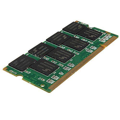 YOC 2x1 GB 1G Ram-speicher PC2100 DDR CL2.5 DIMM 266 MHz 200-poligen für Notebook Laptop