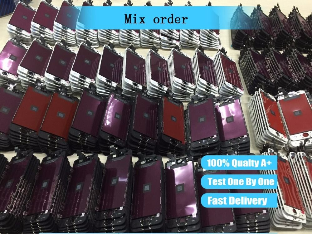 special link mix order of lcd assembly screen replacement display touch screen Digitizer for iphone lcd