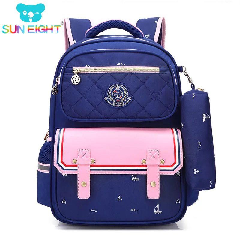 Orthopedics Fashion Children School Backpack School bags For Boys/girl Waterproof Backpack Kids School bag 2018 Fashion Trend