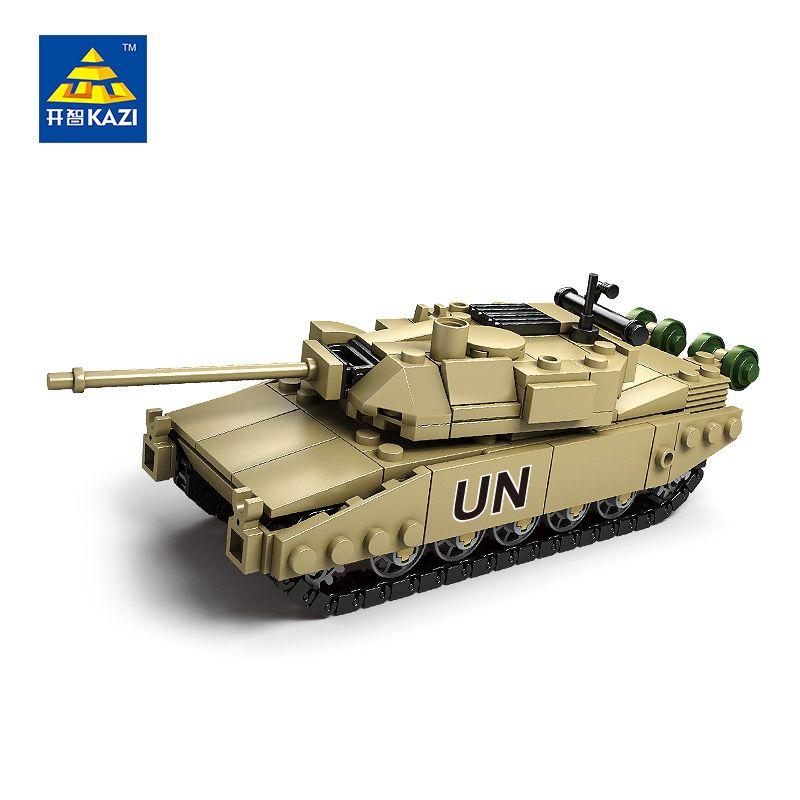 KAZI Militaire Modèle Bloc Réservoir ABS Building Block DIY Armée Jouets Enfants Cadeau 4 Style Compatible avec Lego Brique