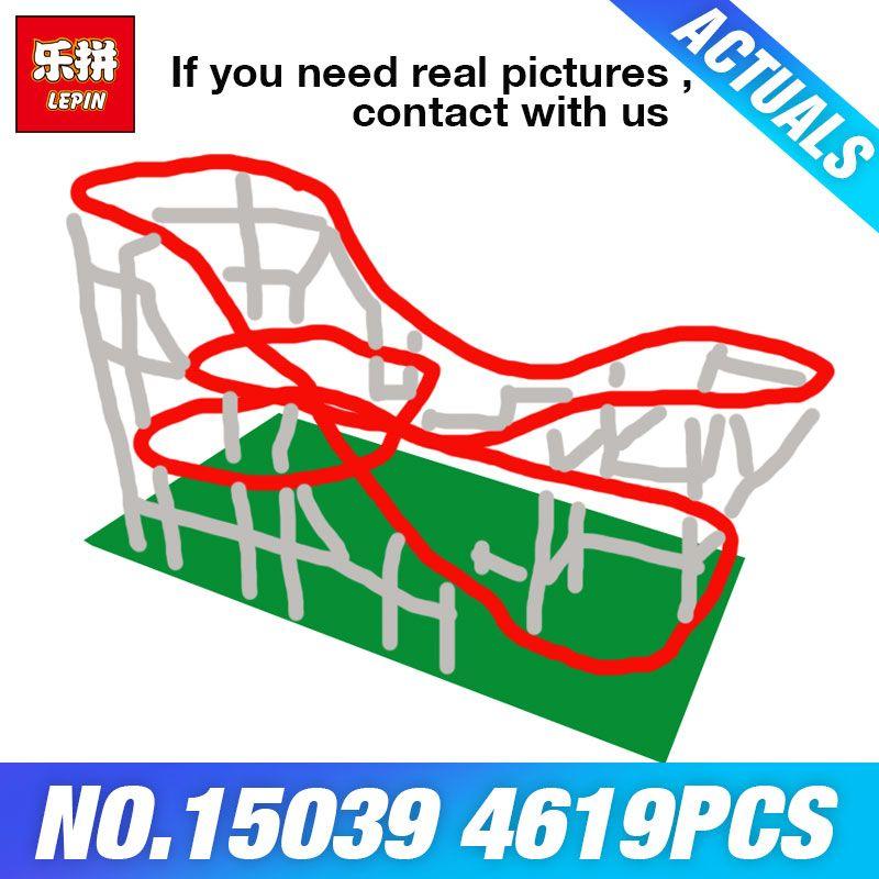 DHL Lepin 15039 Die 10261 Rollere Lustige Modell Coaster Set Gebäude Serie Blöcke Selbst-Verriegelung Ziegel Spielzeug für Kinder DIY Geschenke