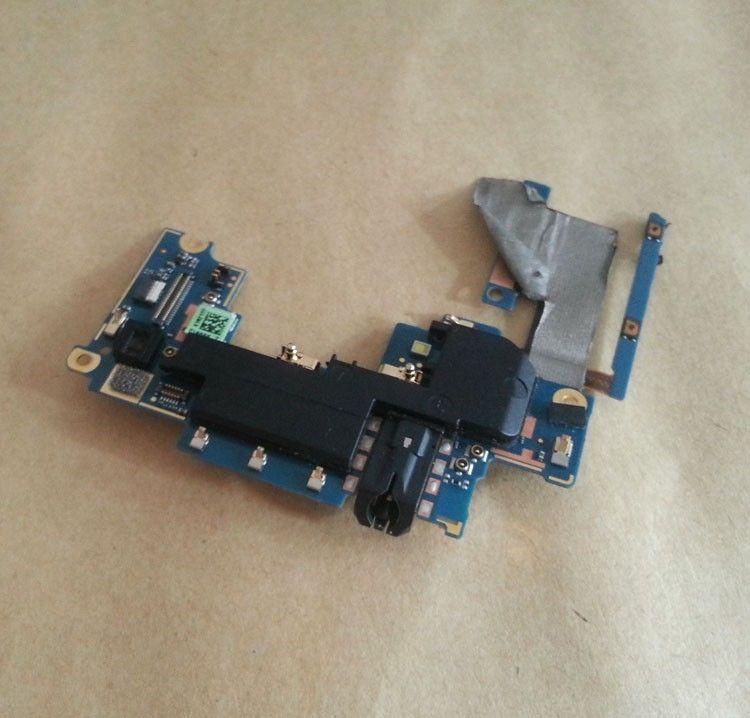 JEDX Original für HTC EINS M7 Hauptplatine mit Audio Jack Flex Kabel + Power Volumen Flex Ersatz