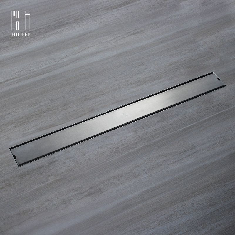 HIDEEP Odor-resistant Floor Drain Cover Rectangle SUS304 Stainless Steel Shower Floor Grate Drain Linear Floor Drain