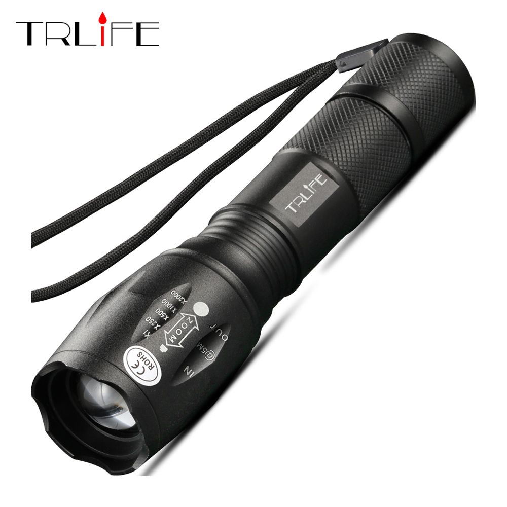 10000 Lumens LED Flashlight Rechargeable Bright Tactical Flashlight Camping T6 V6 L2 Torch Waterproof Lanterna Use 18650 Battery