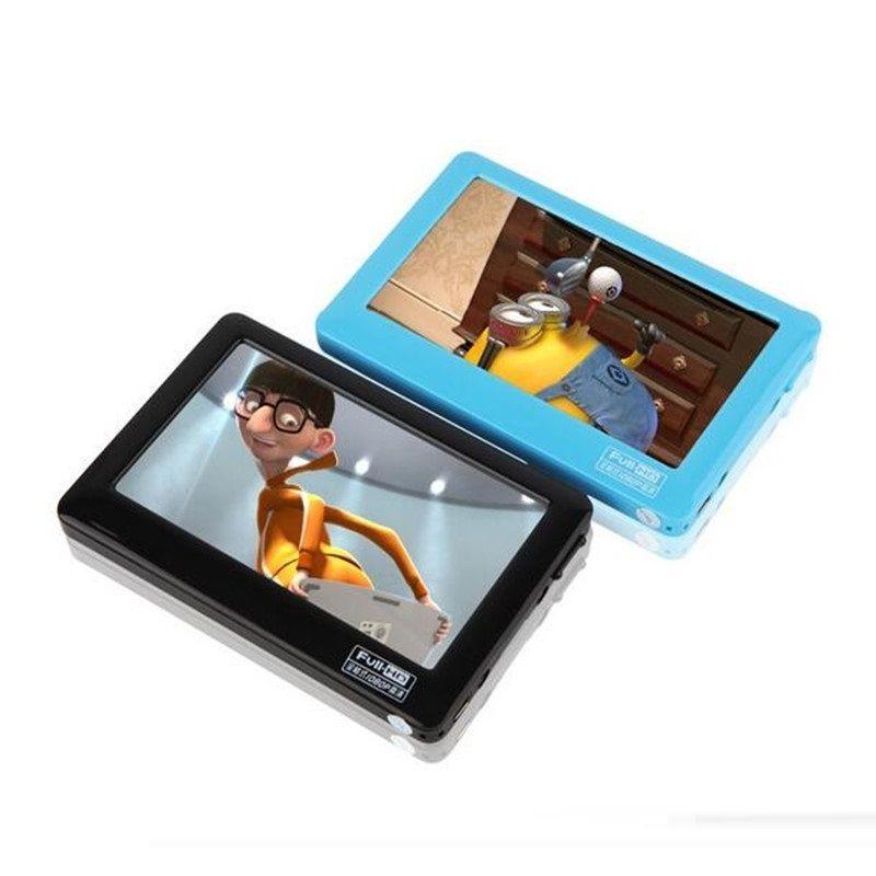 HD Écran Tactile 8 GB MP4 Bleu MP5 Lecteur Avec Haut-Parleur Av Out Jeu Console 4.3 MP4 MP5 Lecteur MP4 Enregistreur Mini Musique lecteur