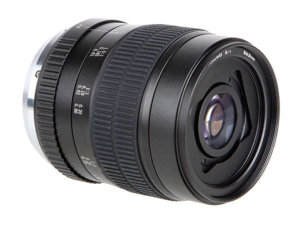 60mm f/2.8 2:1 Super Macro Manual Focus Lens for Nikon F Mount D7200 D5200 D3200 D800 D700 DSLR