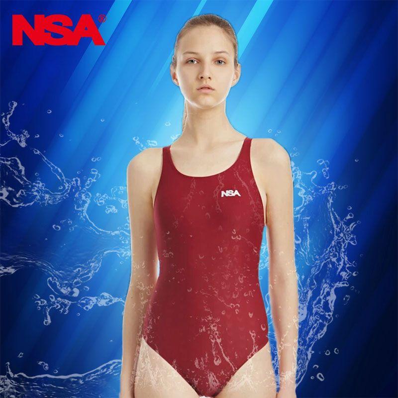 NSA fond de teint en poudre femmes une pièce maillot de bain pour filles maillot de bain femmes maillots de bain compétition maillot de bain pour les femmes