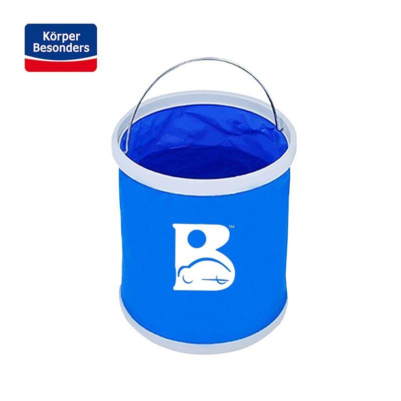 Multifonction Pliant Voiture Seaux 11L Bleu Imperméable Oxford Tissu Portable Seau Pour Le Lavage De Voiture seau de pêche 24.5*27.5 CM