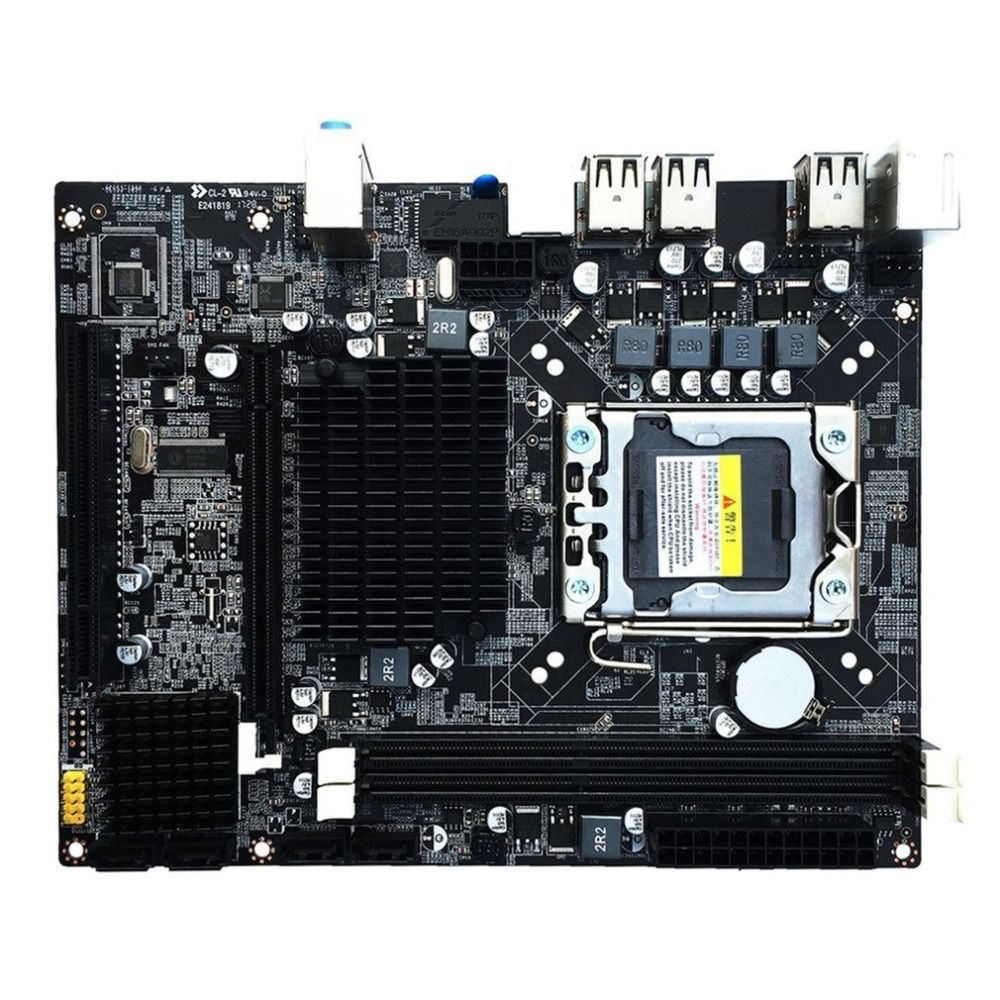 X58 Desktop Motherboard LGA 1366 DDR3 16GB Computer Mainboard Quad-Core Six-Core Needle 8PIN Intel Motherboard