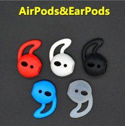 4 stücke Kopfhörer Fall Earbuds Abdeckung für Apple iphone X 8 7 Airpods 6 Plus 5 SE Earpods Kopfhörer Eartip Ohr Flügel Haken Cap Ohrbügel