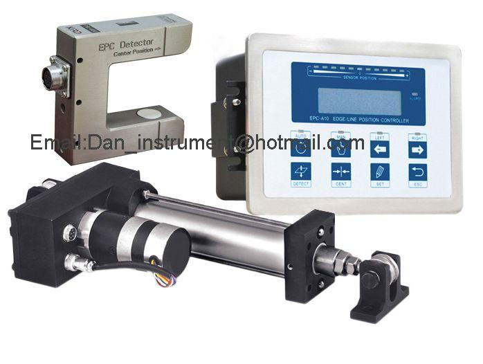Hohe Qualität EPC Web Guide Control system mit ultraschall sensor Sensor und Servo Web guide Controller